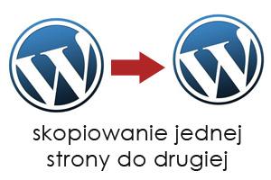 skopiowanie wordpress